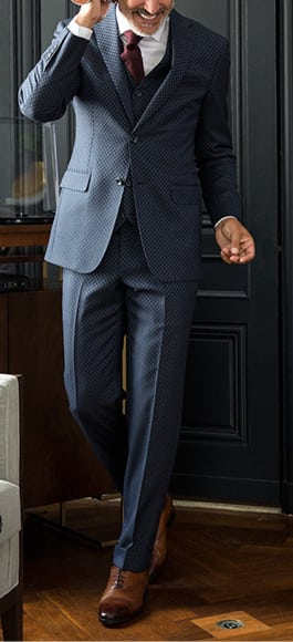 Custom and tailored suits