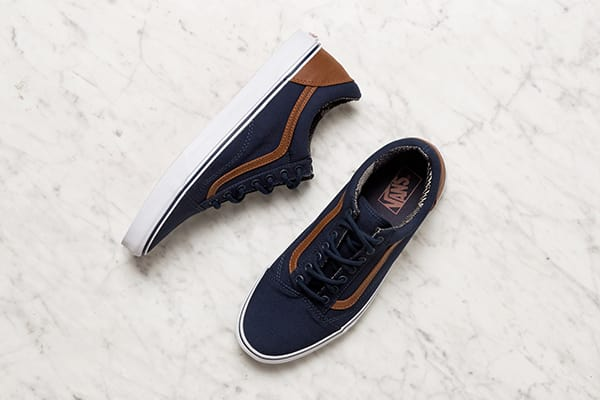 Navy Vans shoes for men