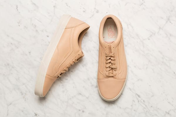 Tan leather Vans for men