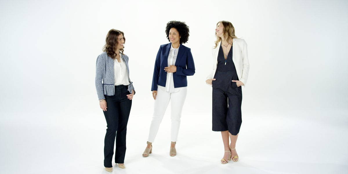 Nine Ways to Wear Denim at Work