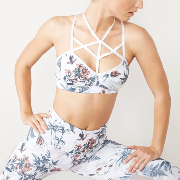 Women's Floral Printed Yoga Activewear