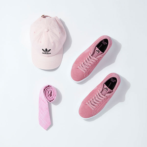 Pink accessories for men
