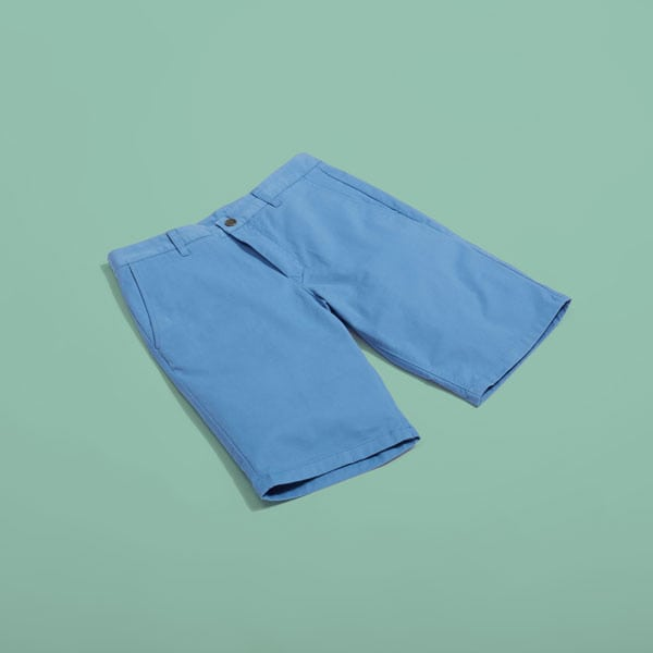 Blue shorts for men