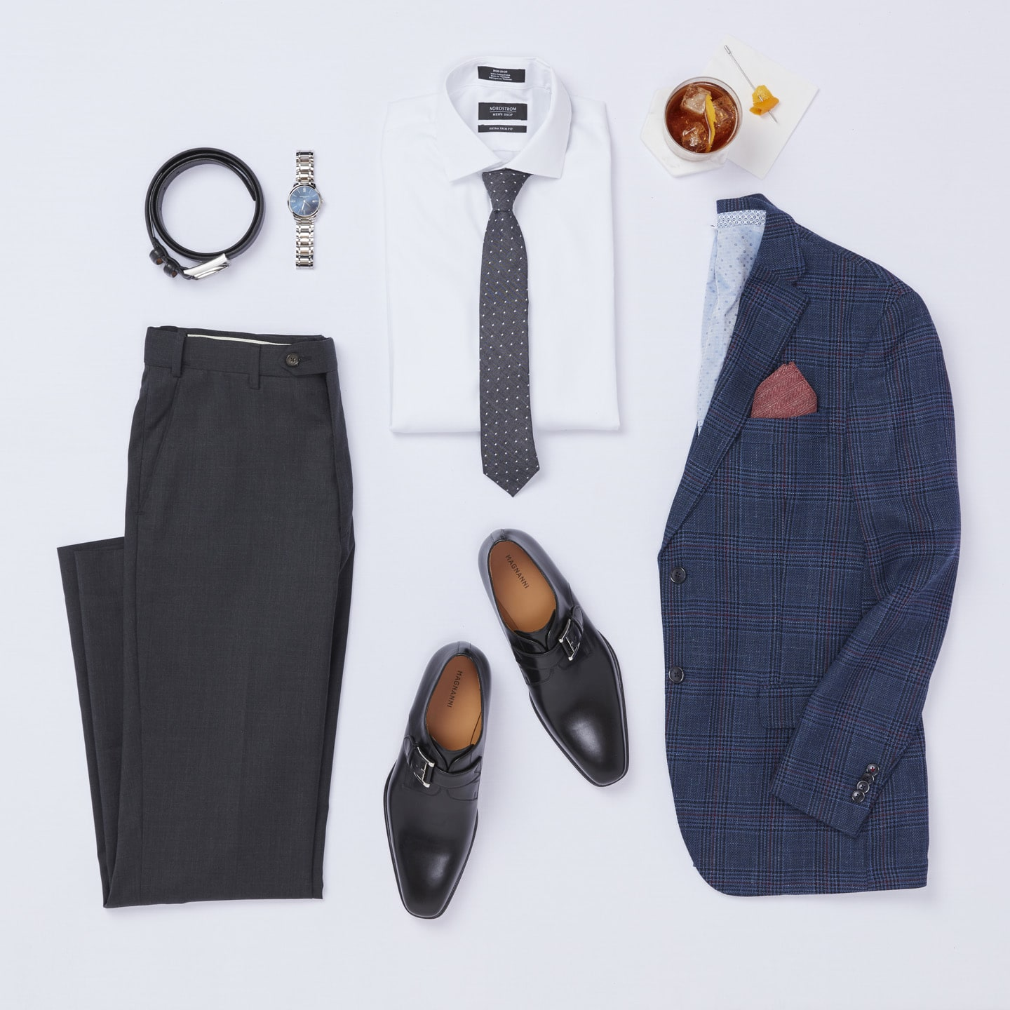 Dressy casual wedding guest attire for men