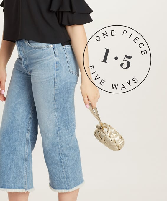1 Piece, 5 Ways: Wide-Leg Crops