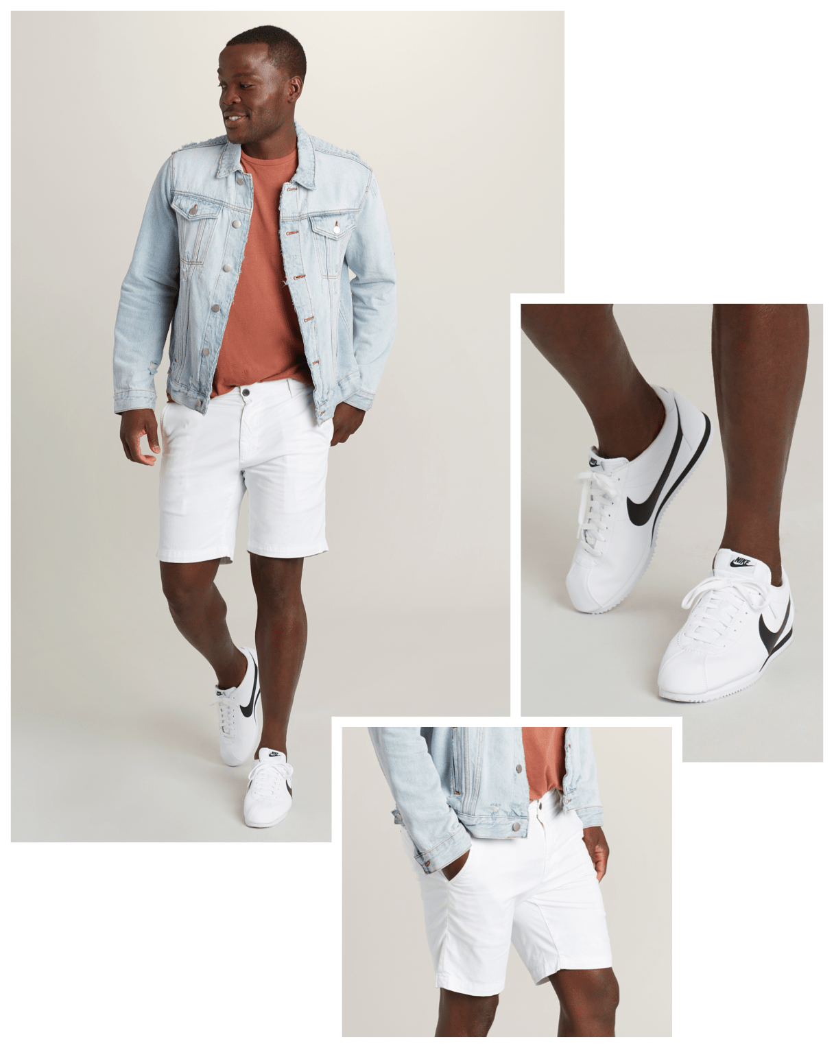 Ball game look for men