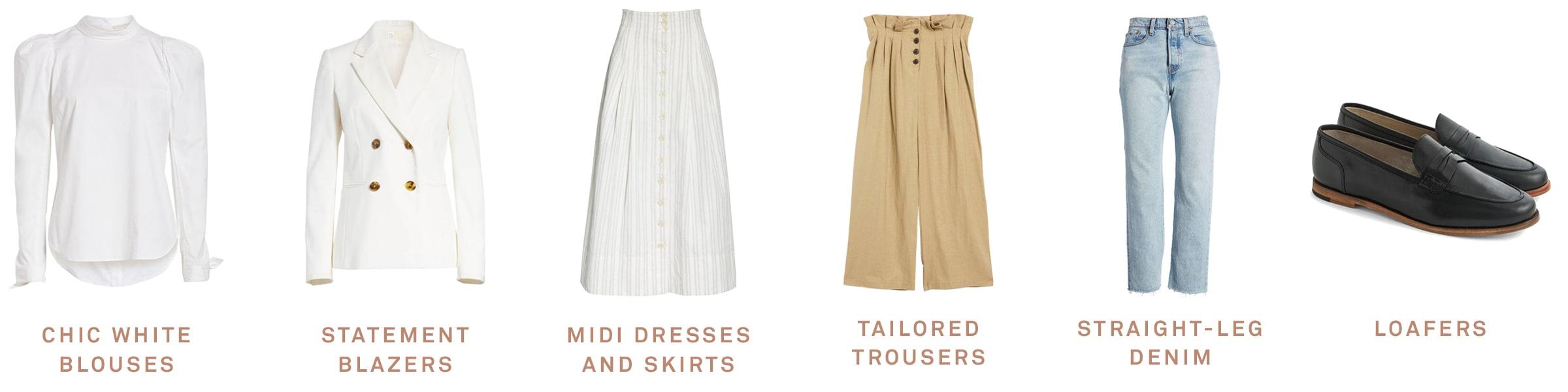 Mary Orton's six wardrobe essentials