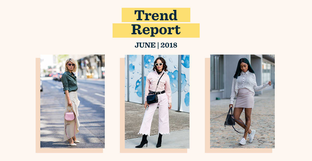 June Trend Report: Vintage, Flowy, and Vibrant