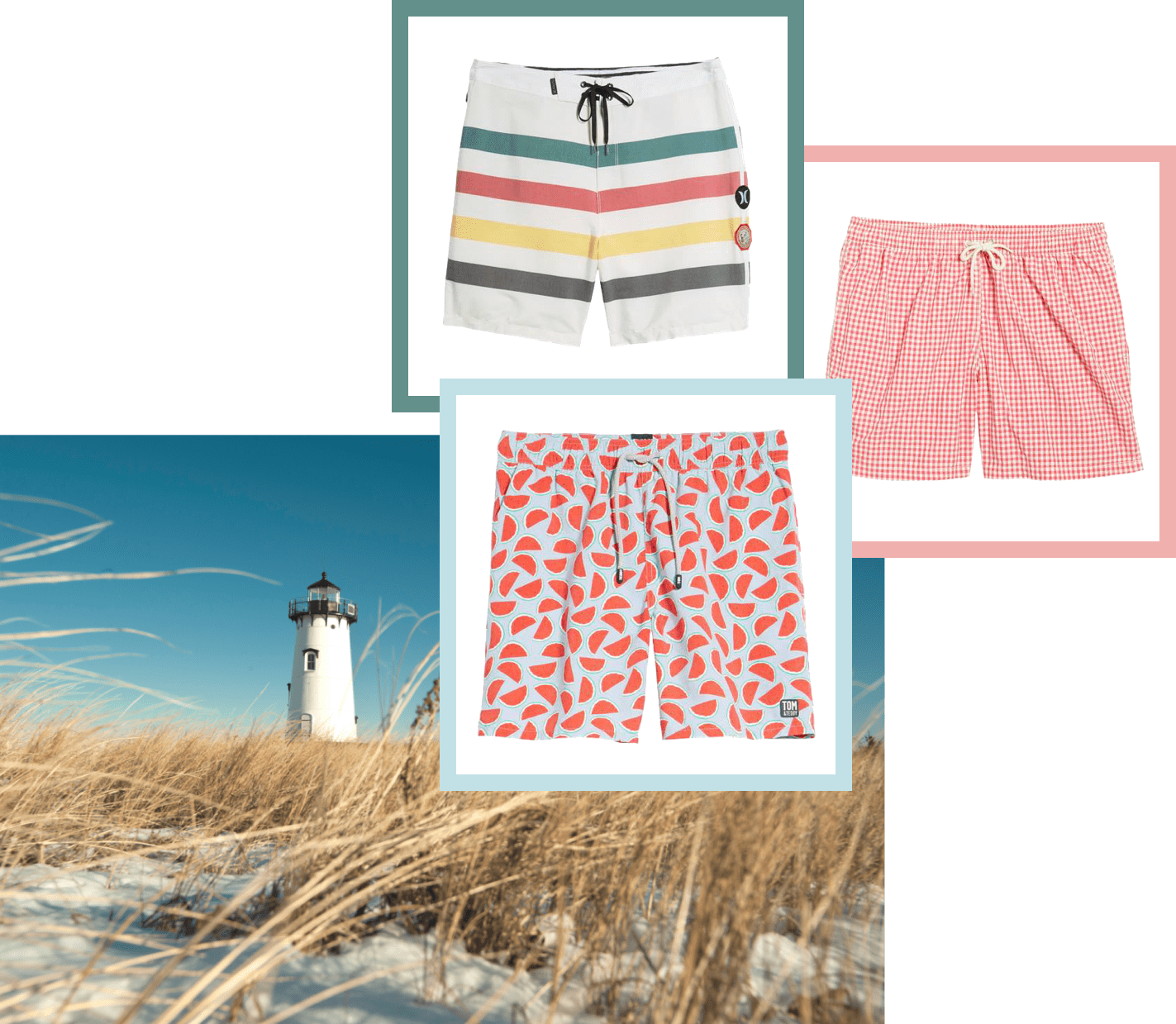 Swimsuits inspired by Martha's Vineyard