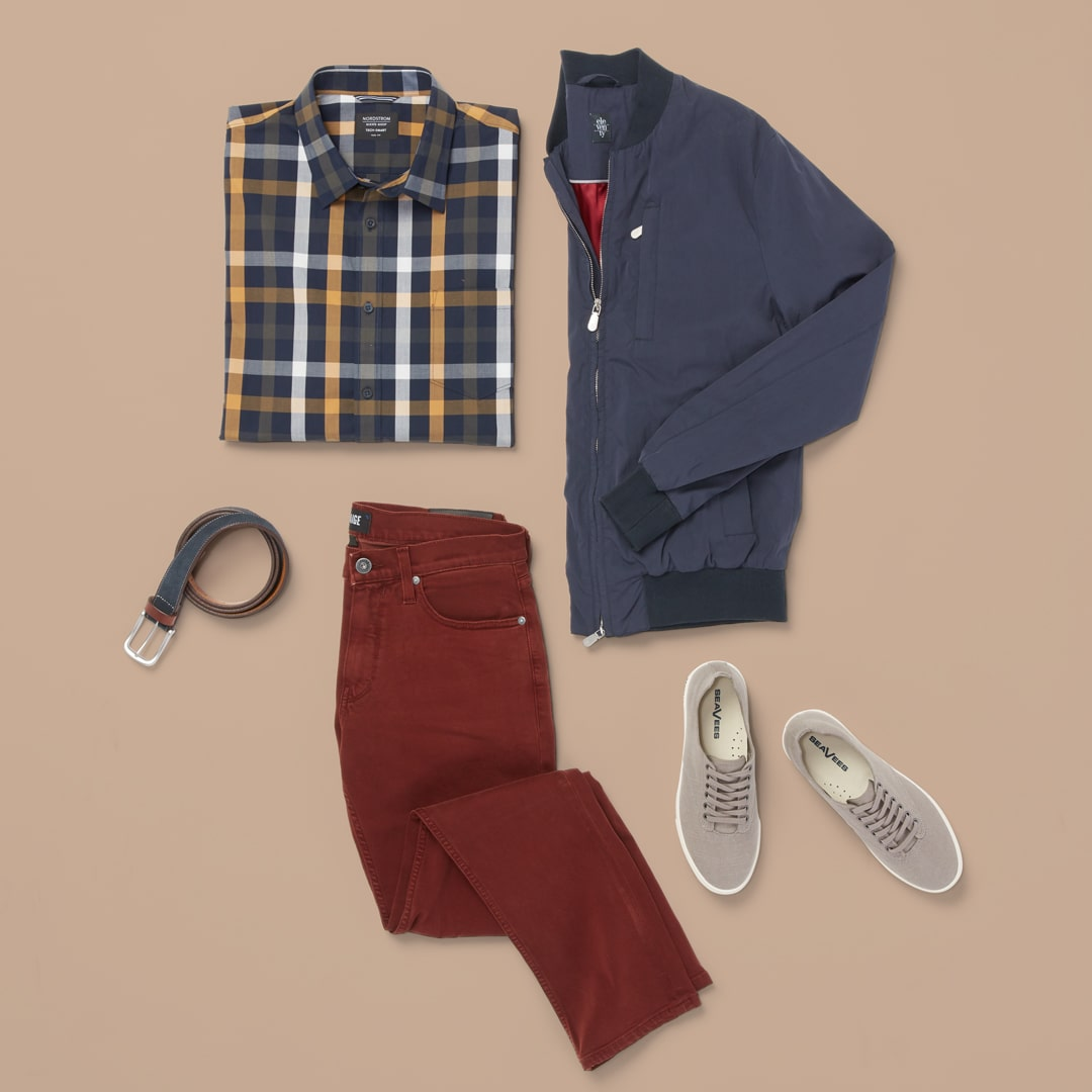 Modern prep look for men