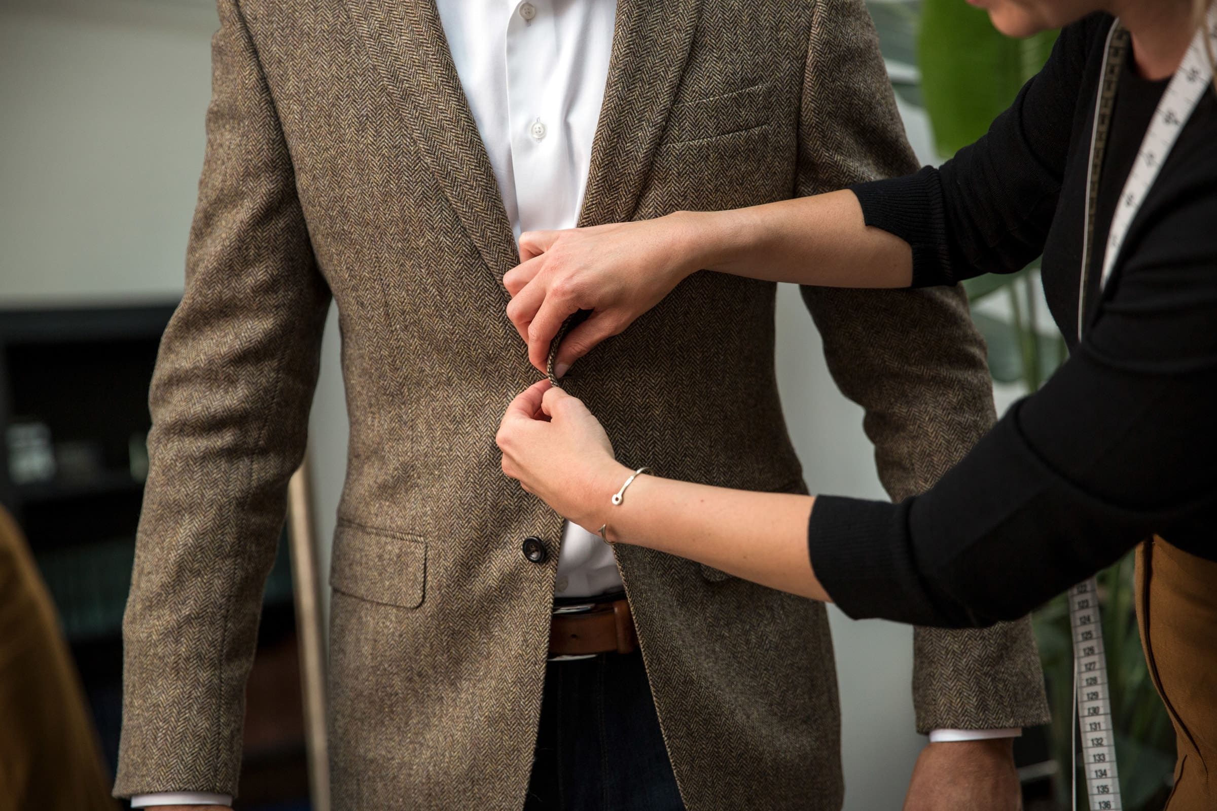 Trunk Club Custom measurement and fitting process