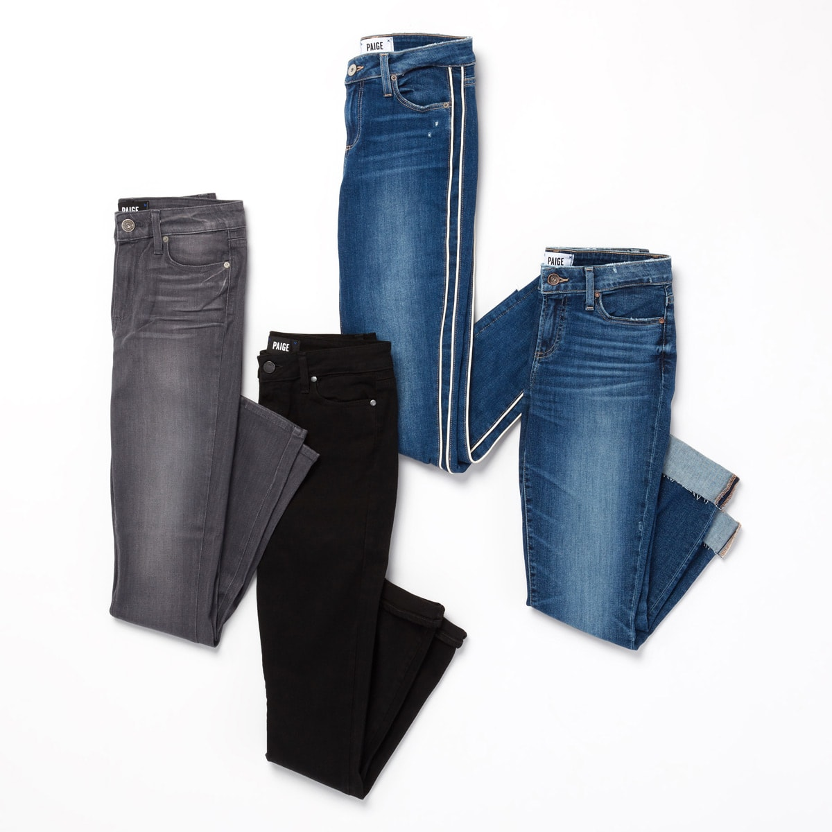Paige denim comes in many styles like skinny, straight, boyfriend and bootcut