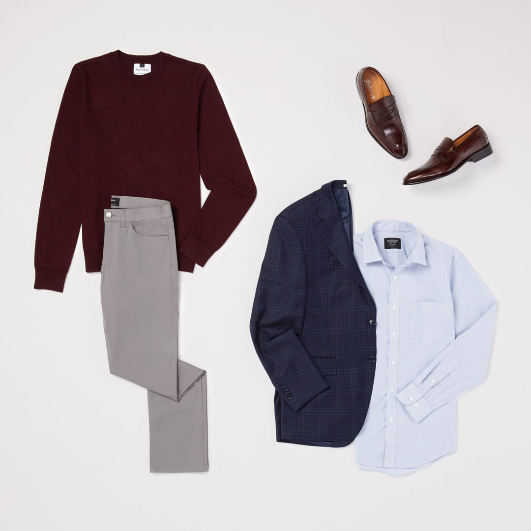 Workwear refresh for men