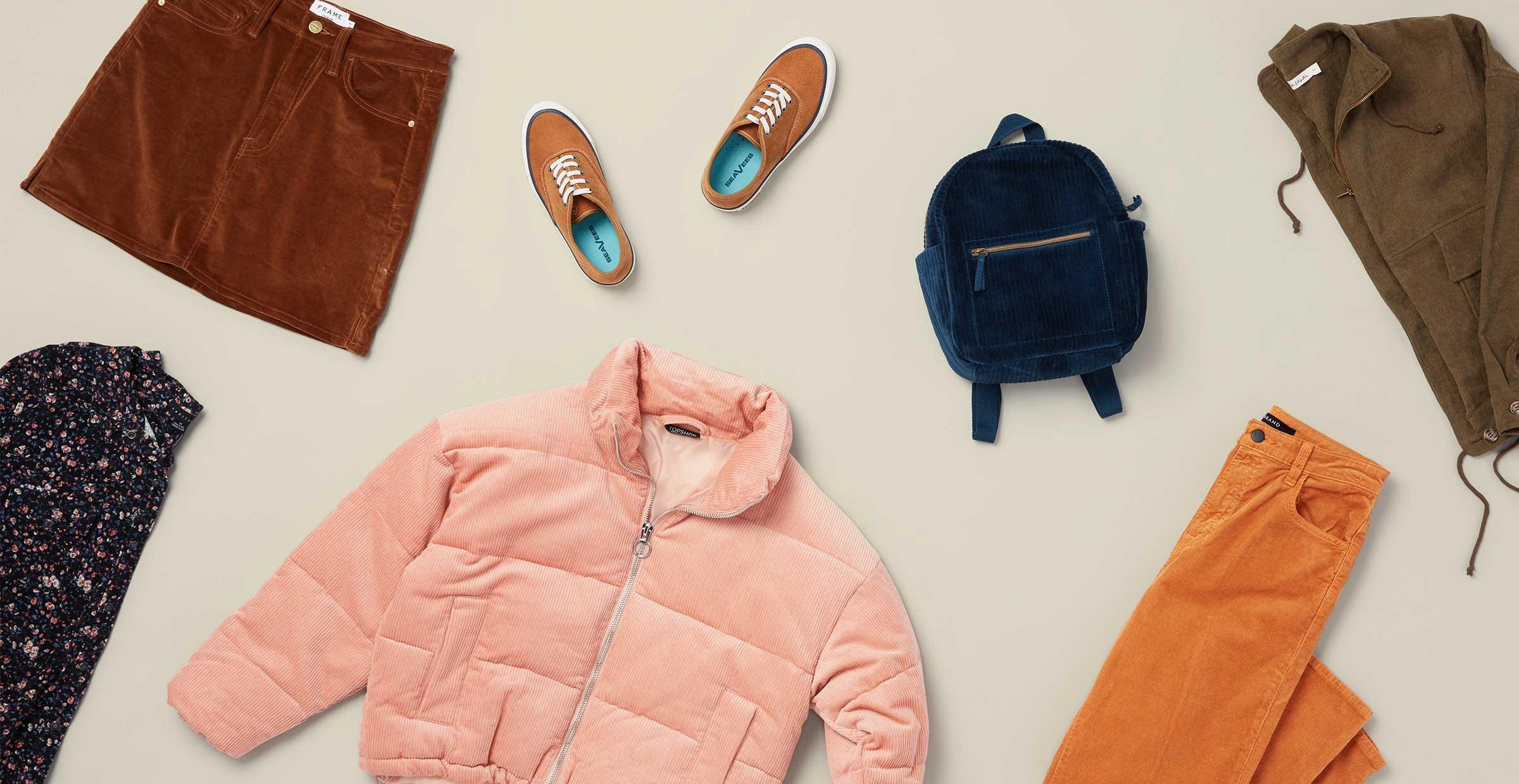 3 Fresh Ways to Wear Corduroy