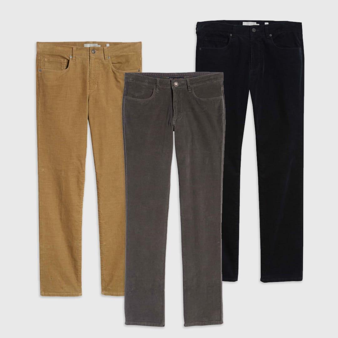 Corduroy pants for men