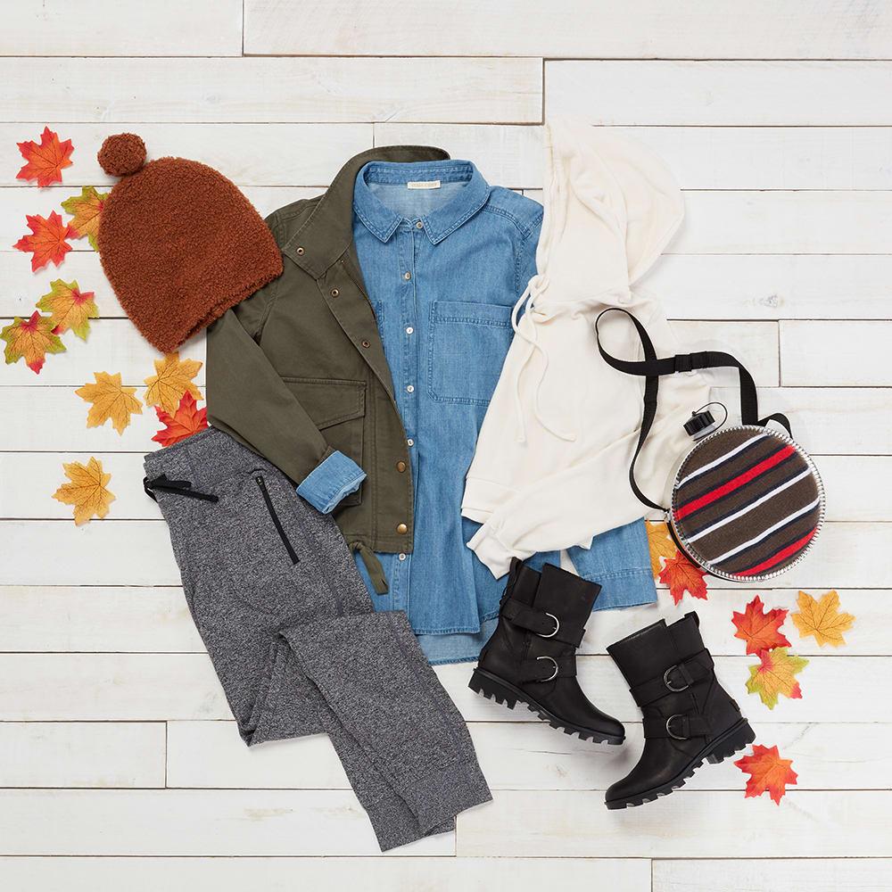 Fall athletic wear