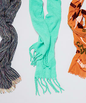 Wrap up in Fall's Best Scarves
