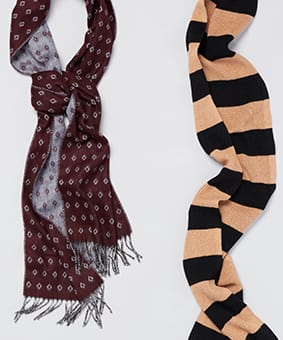3 Patterned Scarves to Try This Fall