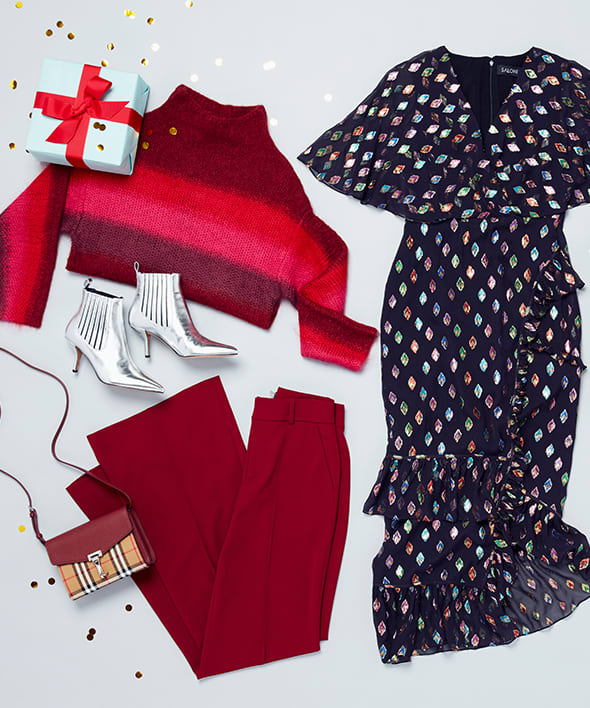 3 Holiday Outfits for 3 Types of Parties