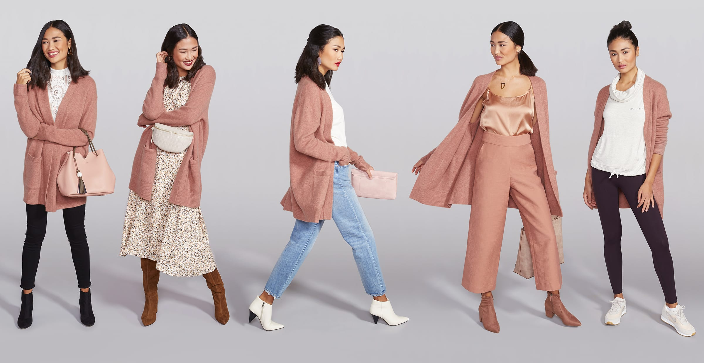 A Long Cardigan, 5 Ways