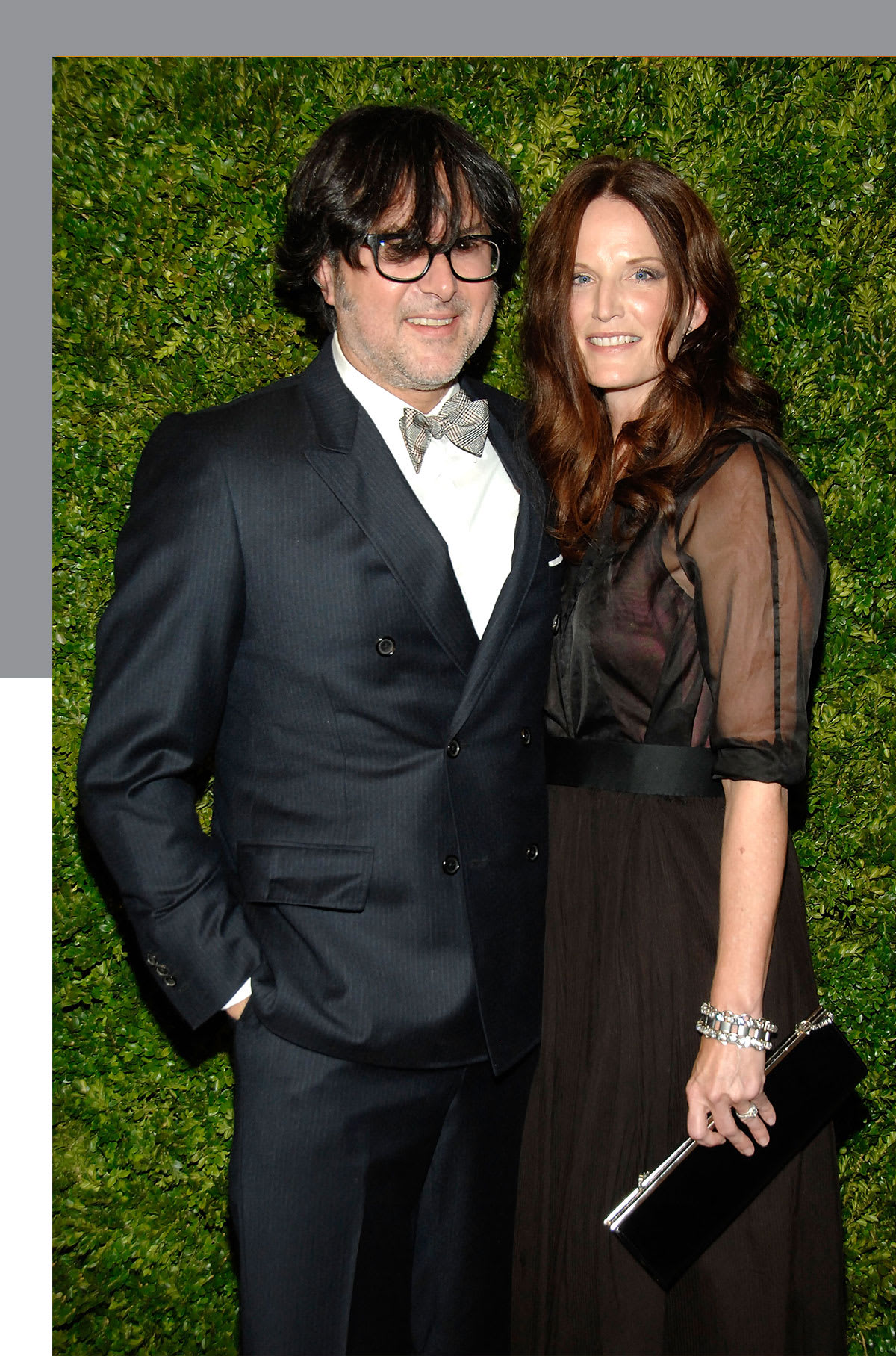 Reid and his wife Jeanne at the 2010 CFDA Awards.