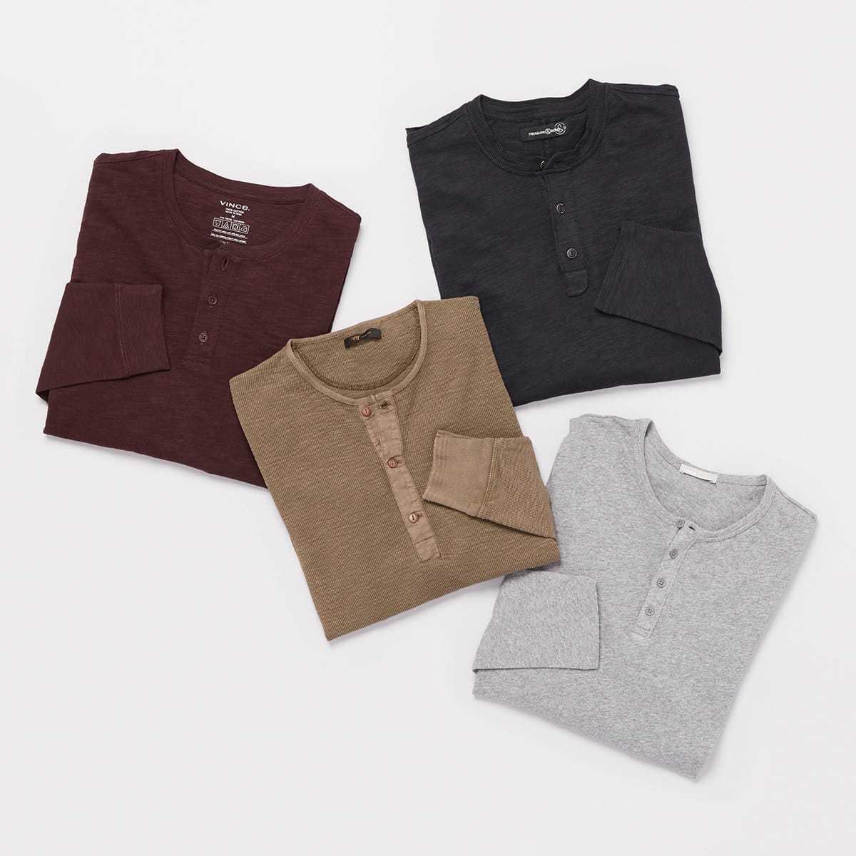 Winter Essentials Henleys