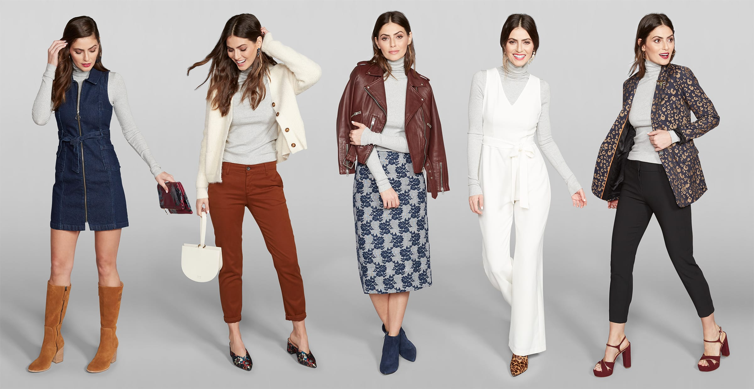 A Lightweight Turtleneck, 5 Ways