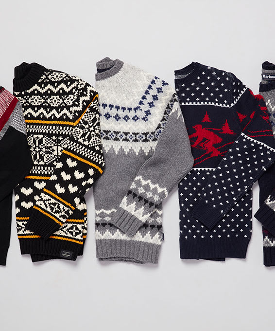 Bring on the Festive Fair Isle Sweaters