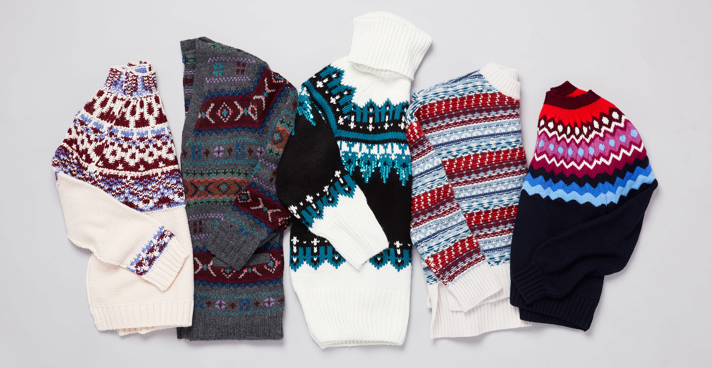 Fair Isle Sweaters to Wear All Winter