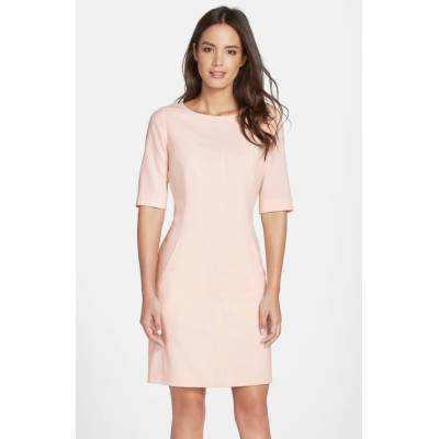 Seamed A-Line Dress by Tahari