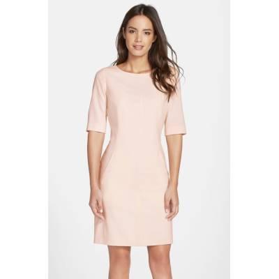 Seamed A-Line Dress by Tahari