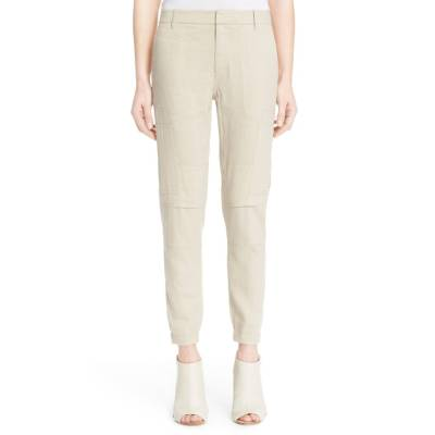 Linen Blend Cargo Pants by Vince