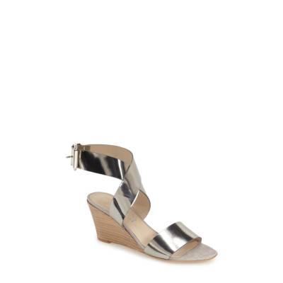 Attilio Giusti Leombruni Ankle Wrap Wedge Sandal by AGL