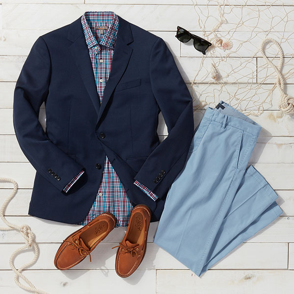 Preppy outfit for men