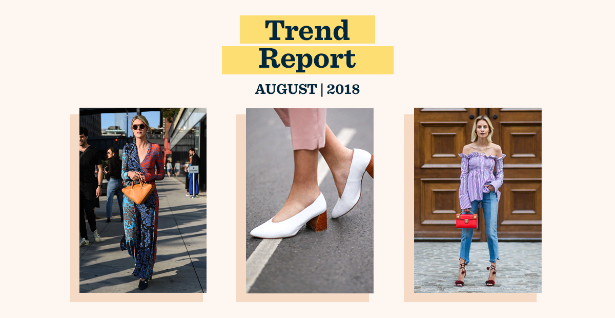 August Trend Report: Contrasts, Shapes, and Patches