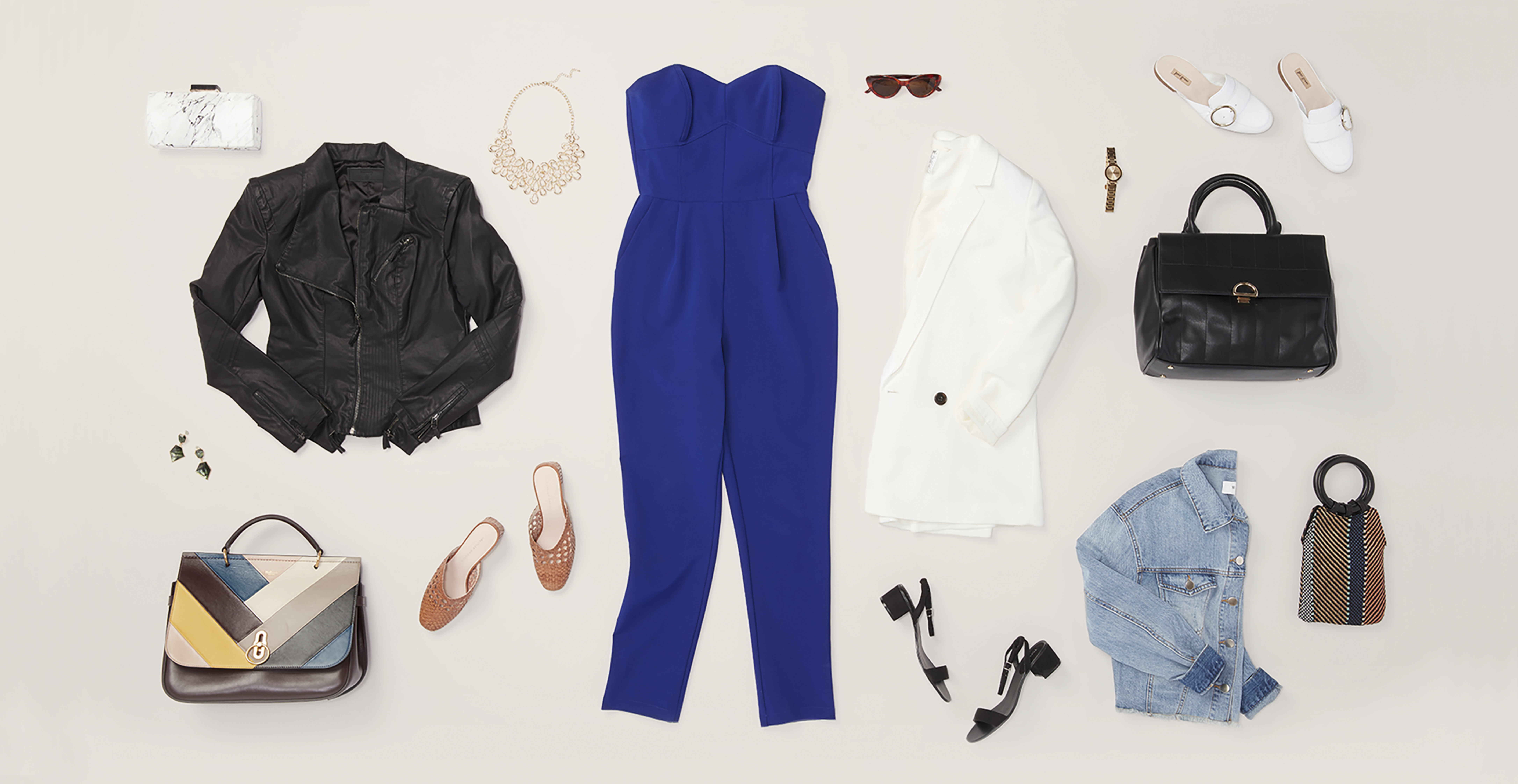 The Jumpsuit, 5 Ways