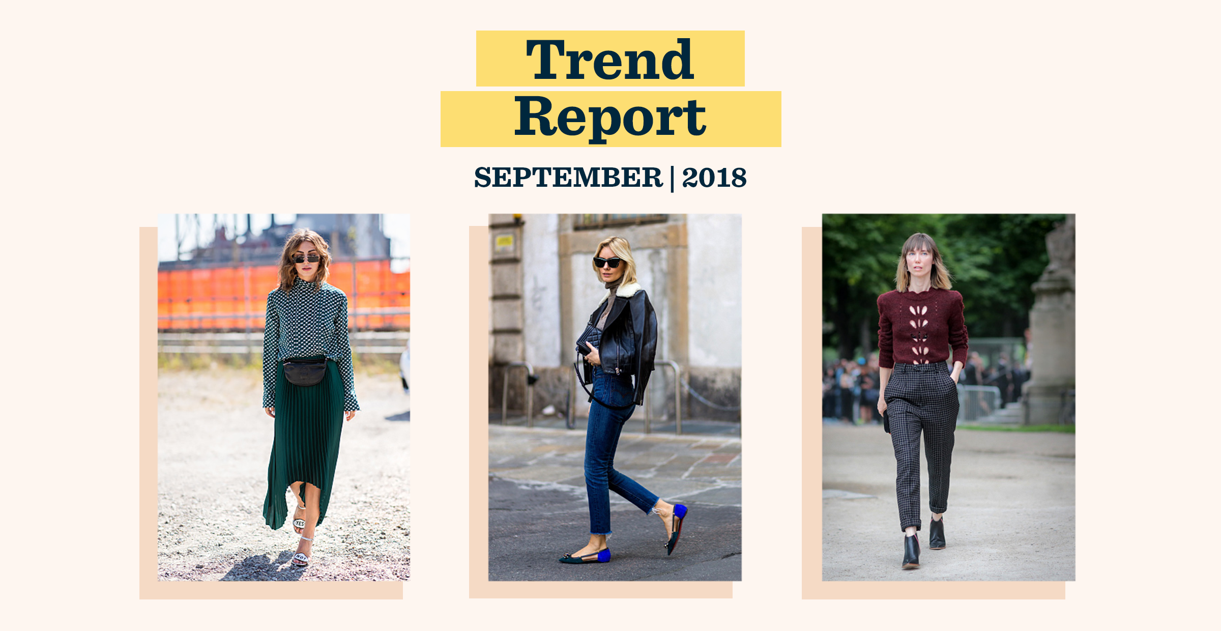 September Trend Report: Hello, Fall