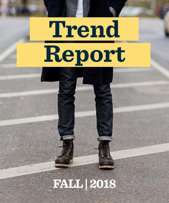 Men's Trend Report: Fall 2018
