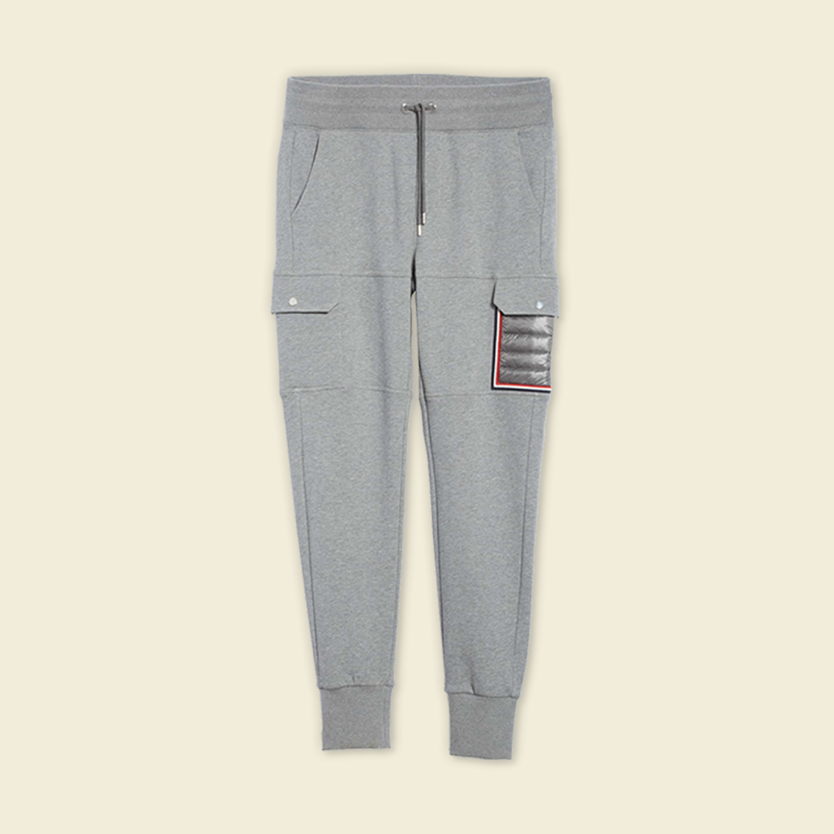 Grey sweatpants.