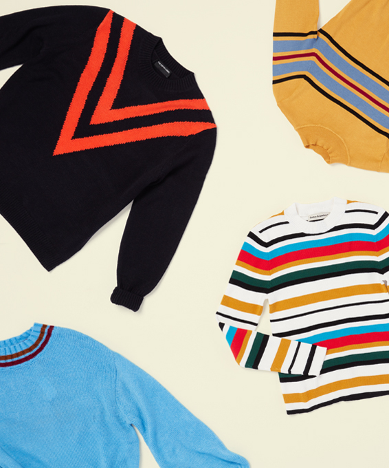 Cool Retro-Inspired Sweaters to Wear Now