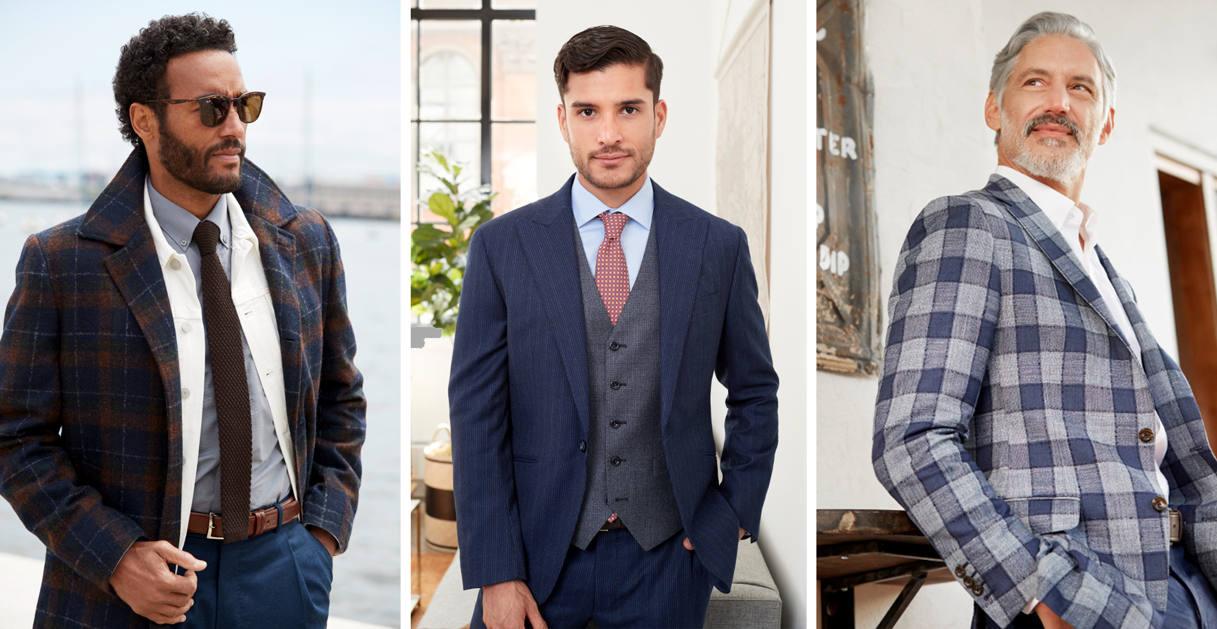 5 Essential Menswear Patterns for Fall