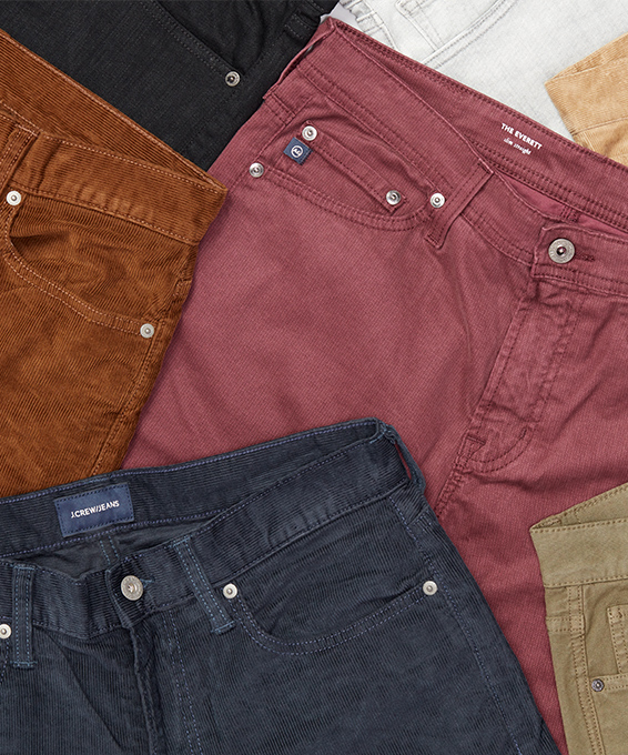 Break from Blue Jeans with These New Pants