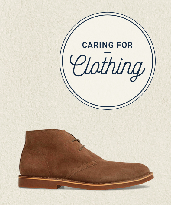 Caring for Clothing: Suede