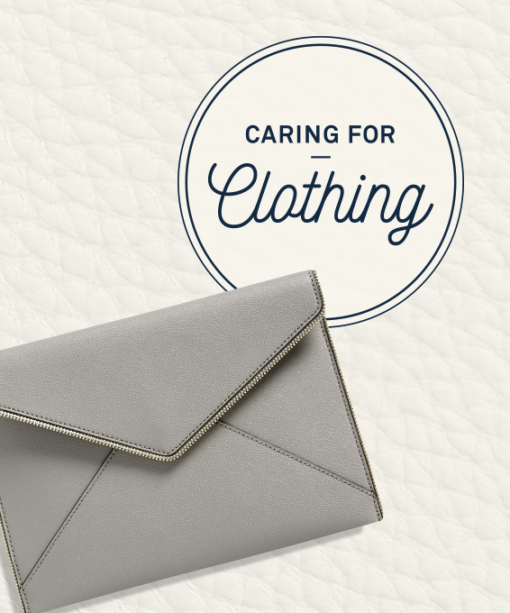 Caring for Clothing: Leather