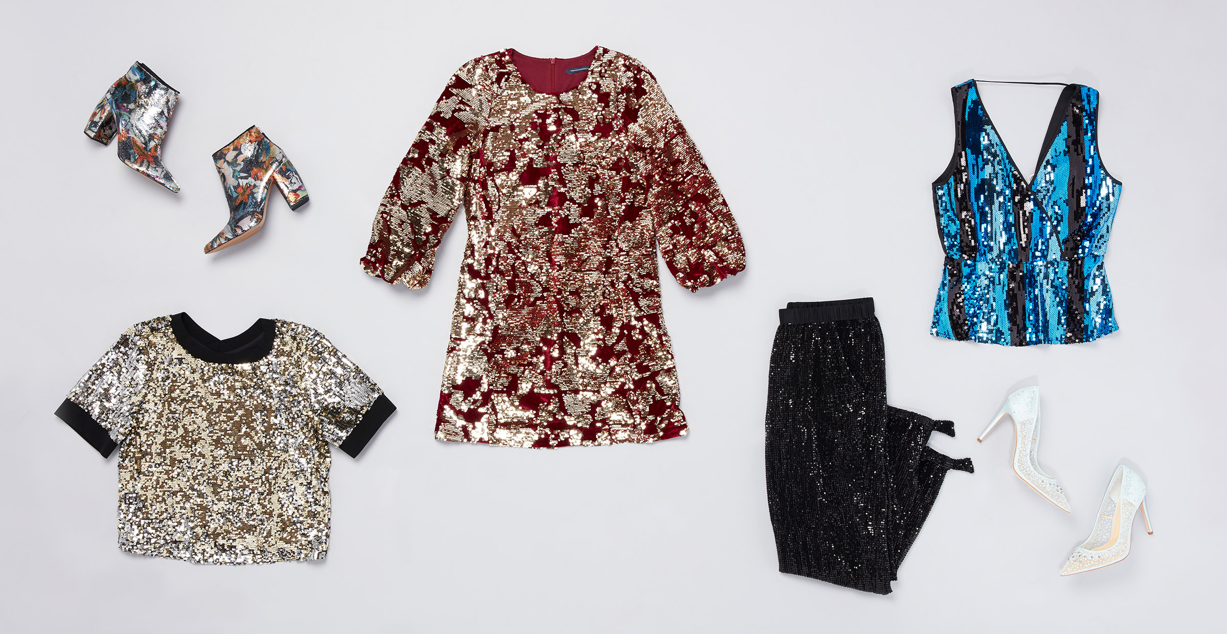 2 Ways to Wear Sequins with Style