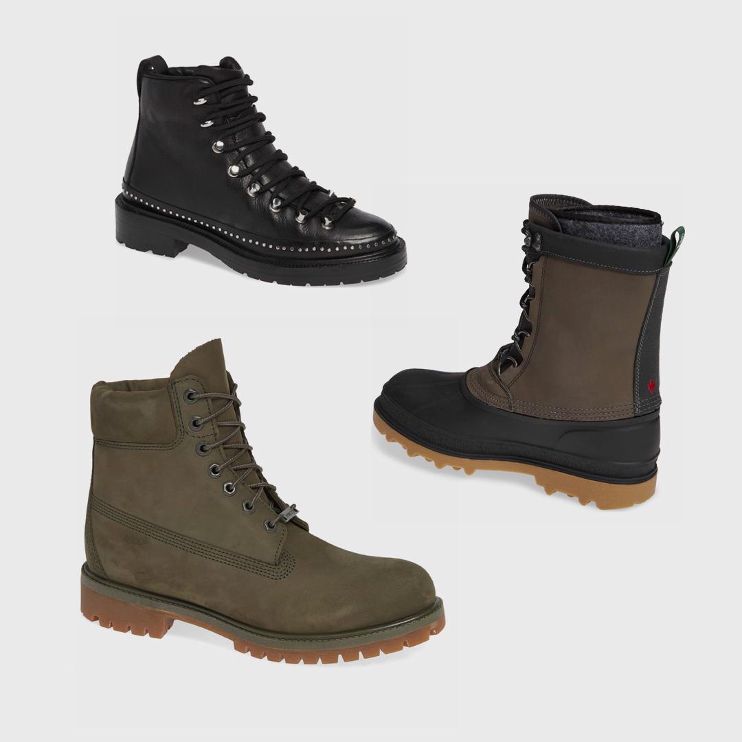 Snow boots.