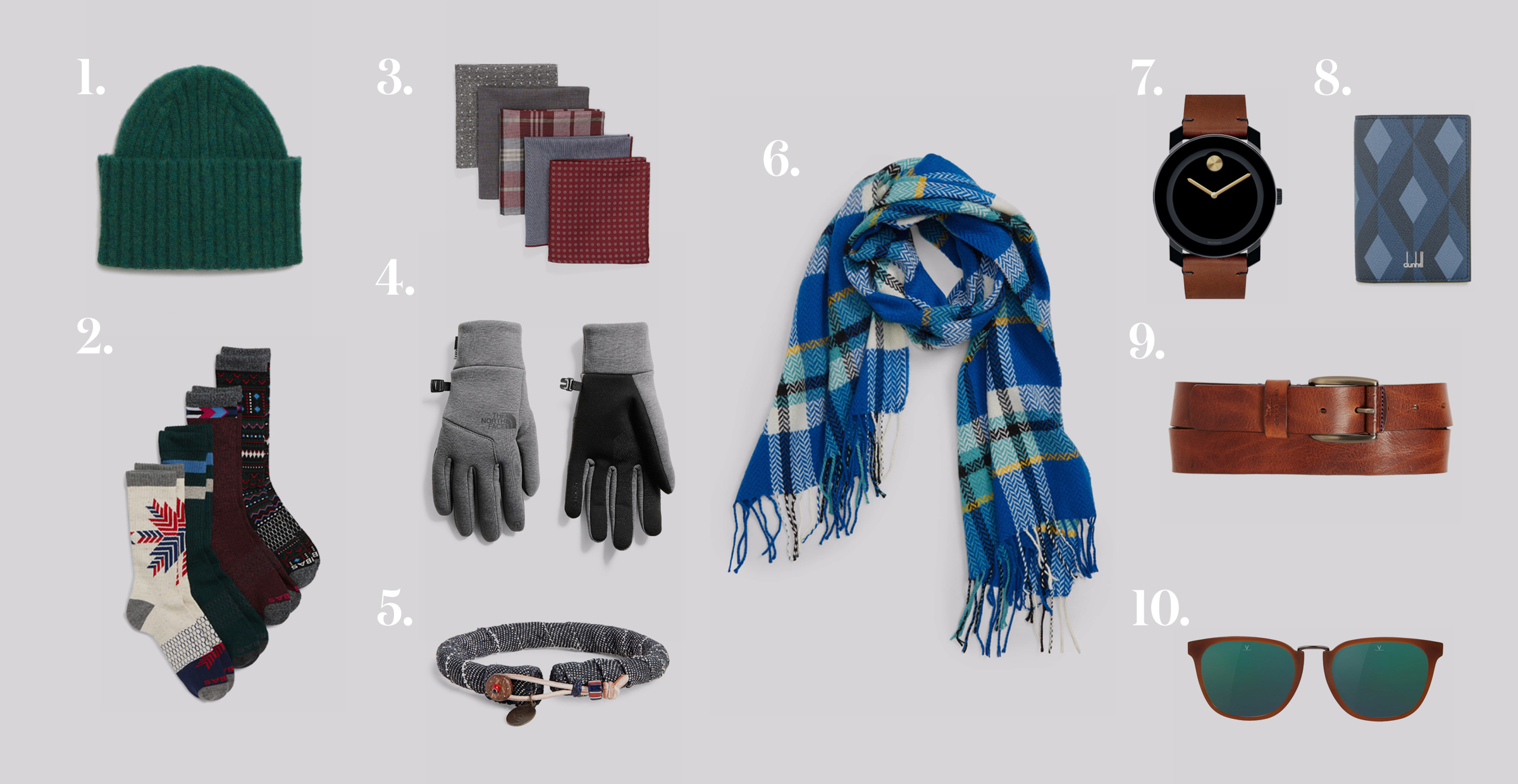 10 Stocking Stuffers for Him