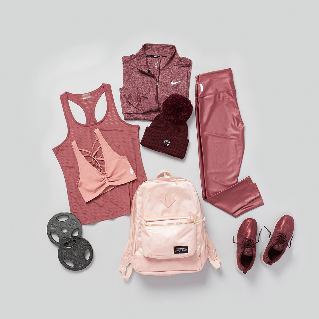 Workout clothing.