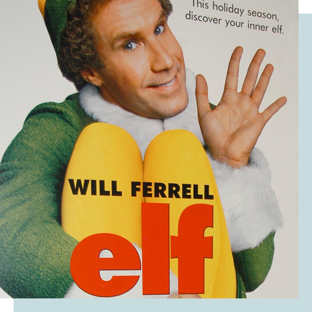 Elf movie poster.