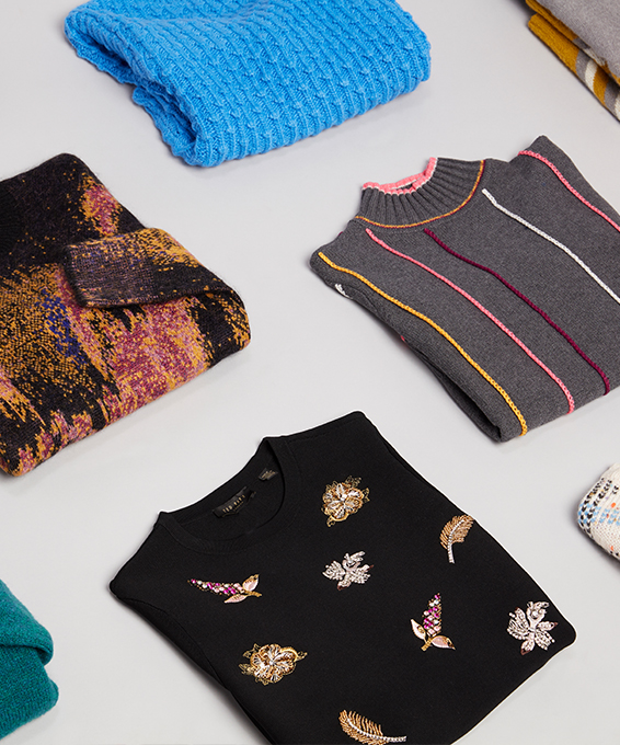 Beyond Basic: Statement Sweaters